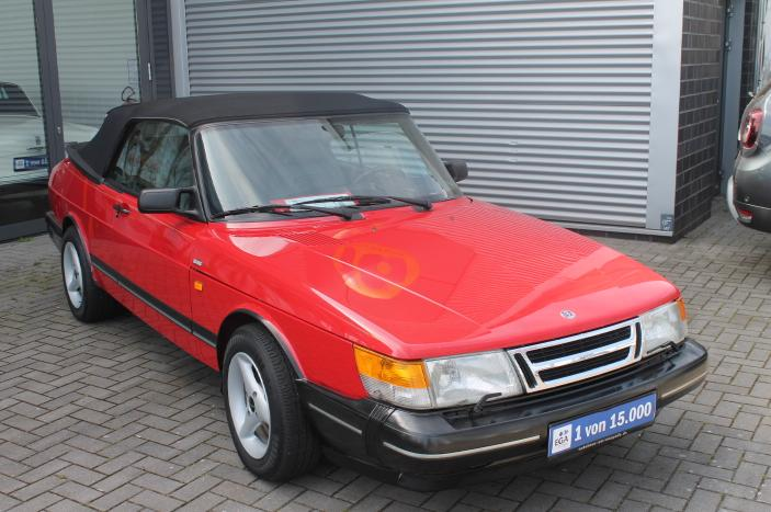 Saab 900 16 V Turbo Convertible, Rostfrei aus Californien