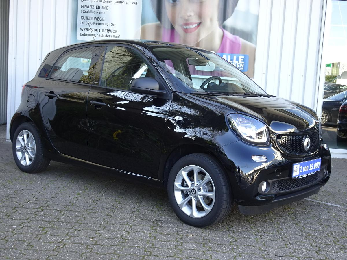 Smart ForFour passion PANO*COOL*AUDIO*LED*SENSOR*KOMFORT*PTS*SHZ*