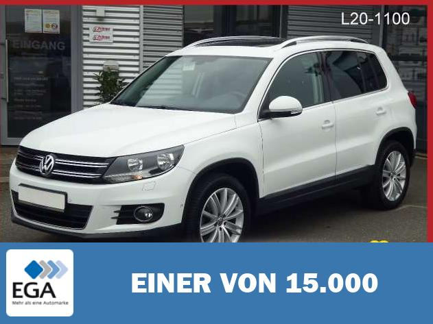 Volkswagen Tiguan Sport & Style 4Motion TDI +PANORAMA+18ZOLL+PARKLE
